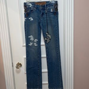 Seven for all Mankind - Skull jeans